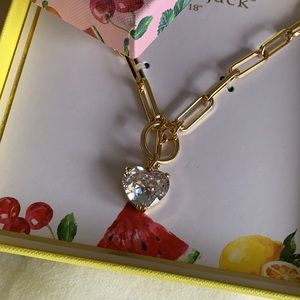 """Bella • Jack 18"""" gold plated heart necklace"""